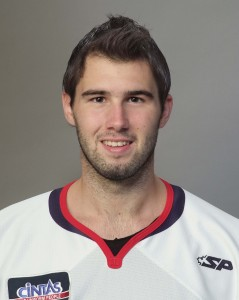 Maxime Clermont stopped 31 of 32 shots in the K-Wings 3-1 win over the Cyclones.